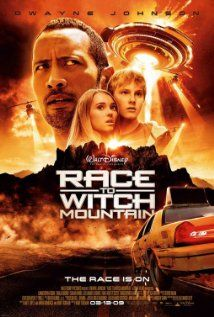 Race to Witch Mountain (2009): A Las Vegas cabbie enlists the help of a UFO expert to protect two siblings with paranormal powers from the clutches of an organization that wants to use the kids for their nefarious plans.