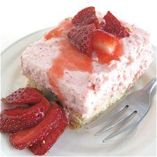 STRAWBERRY CREAM ON SHORTBREAD.Desserts, King Arthur Flour, Fun Recipe, Graham Crackers Crusts, Strawberries Cream, Shortbread, Baking, Strawberries Mousse, Bananas Cream