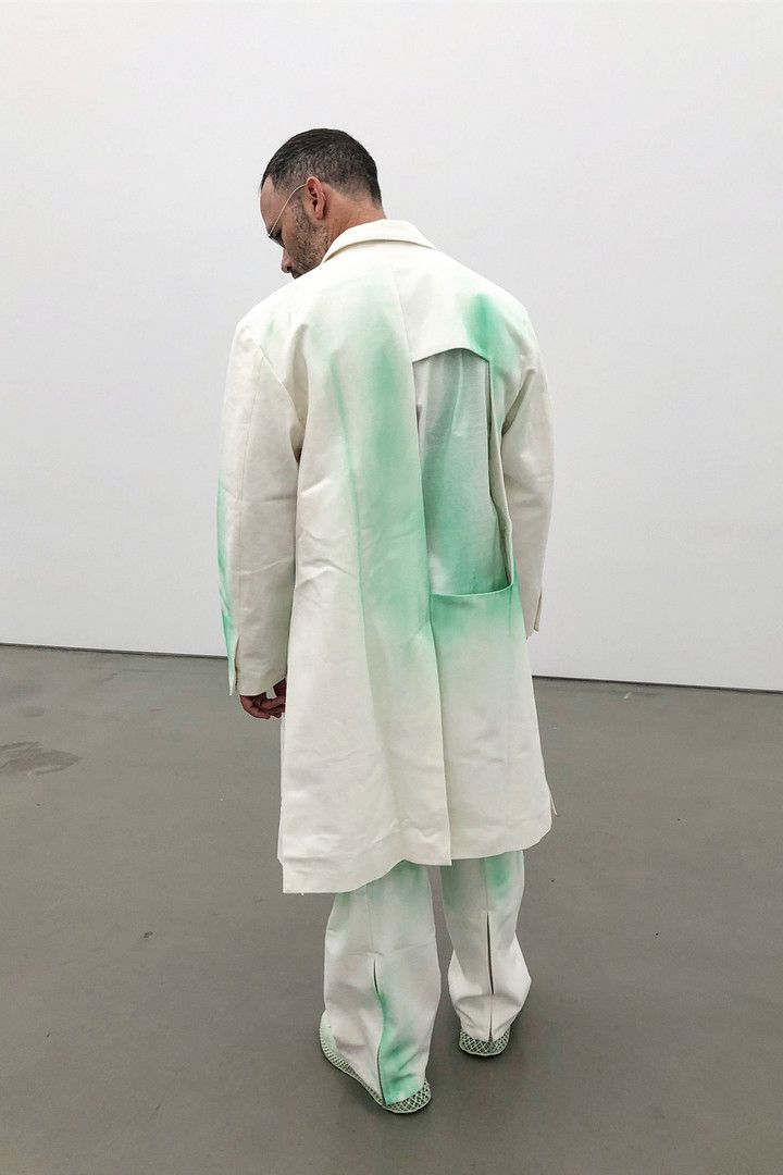 5ff941a5b9 Daniel Arsham Debuts Studio Uniforms Designed by Samuel Ross of A-COLD-WALL