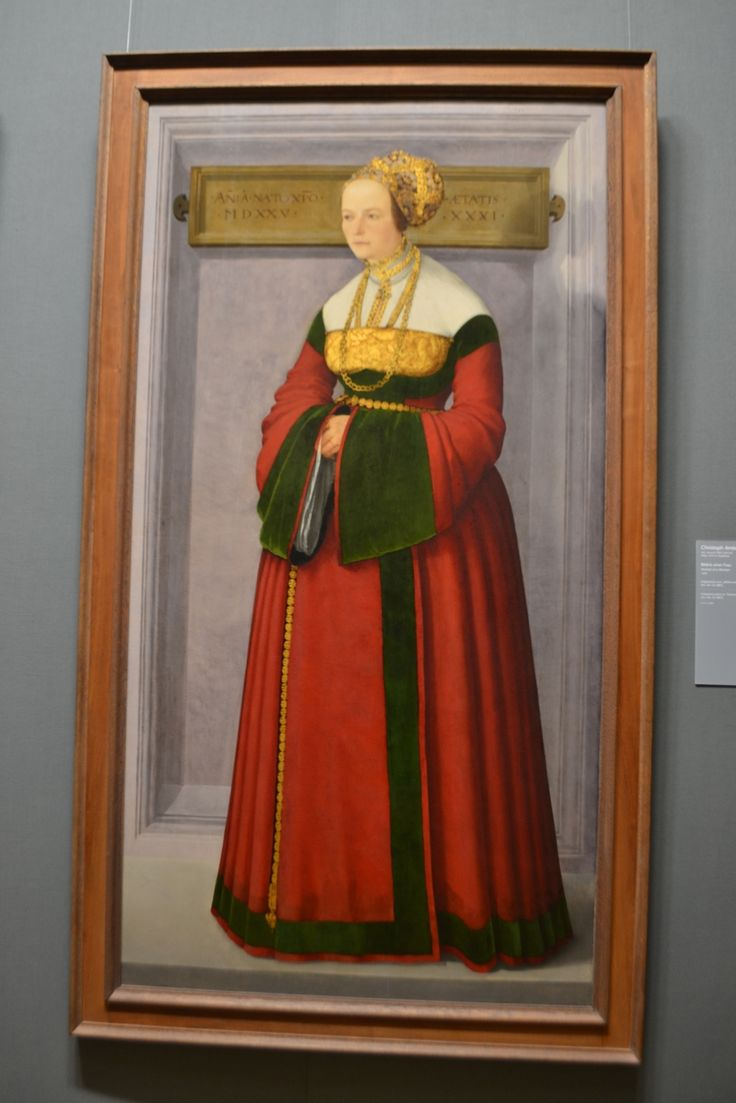 Portrait of a Woman, 1525, Christoph Amberger