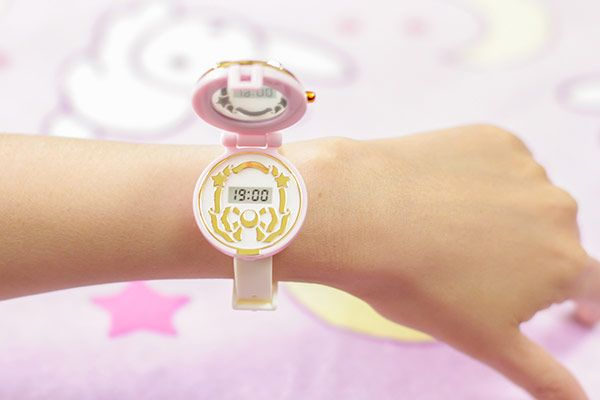 Inside Sailor Moon Communicator Watch Gashapon - Inner Senshi