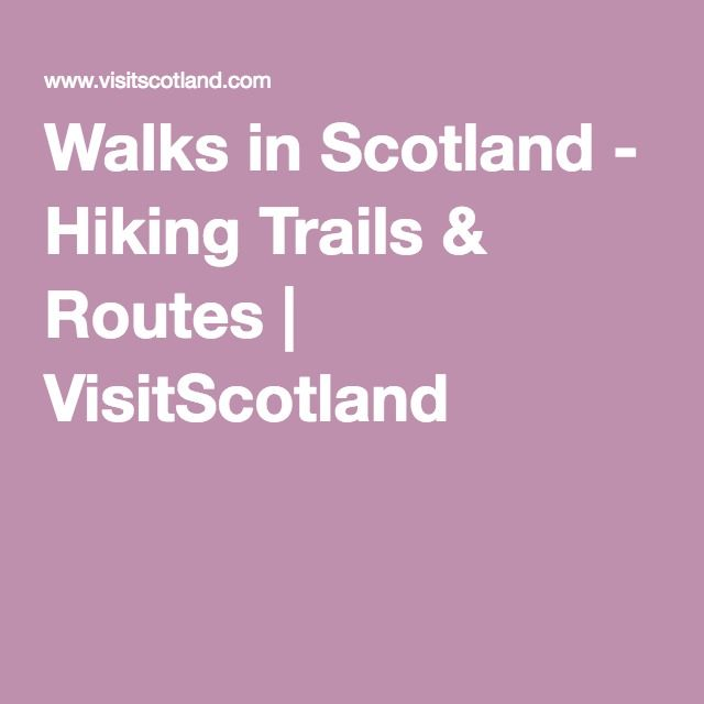 Great Trails - walking trails around the Scotland. Worthy mentioning in my epub