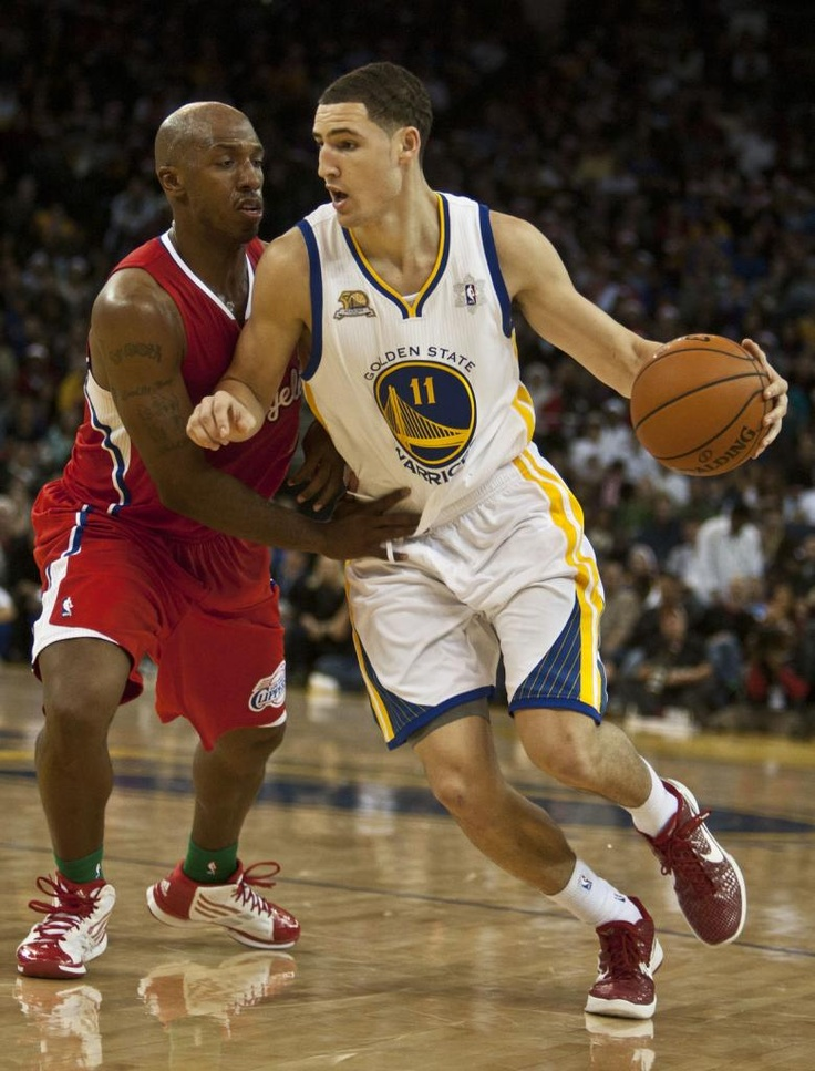 A sophomore player showing absolutely excellent potential, incredible shooting skills, and shutting down other shooting guards with great defense, Golden State Warriors, Shooting Guard, Klay Thompson!!!