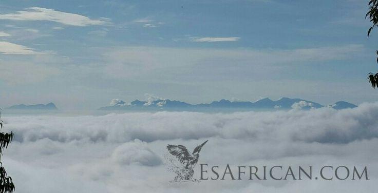 Mulanje Mountain from Zomba Plateau