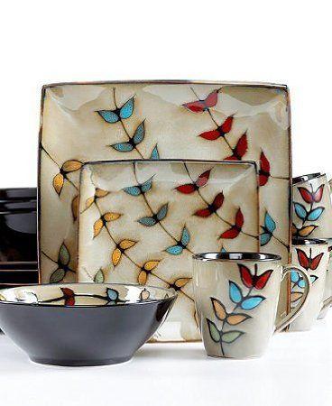 Flora 16 Piece Dinnerware Set AMAZON Home Design Ideas
