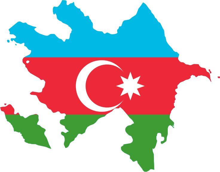 azerbaijan flag map | Description Flag-map of Azerbaijan.svg