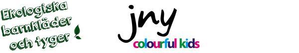 JNY colourful kids - BARNTYGER Bra ekologiska tyger, fina färger och mönster, trevlig och hjälpsam personal