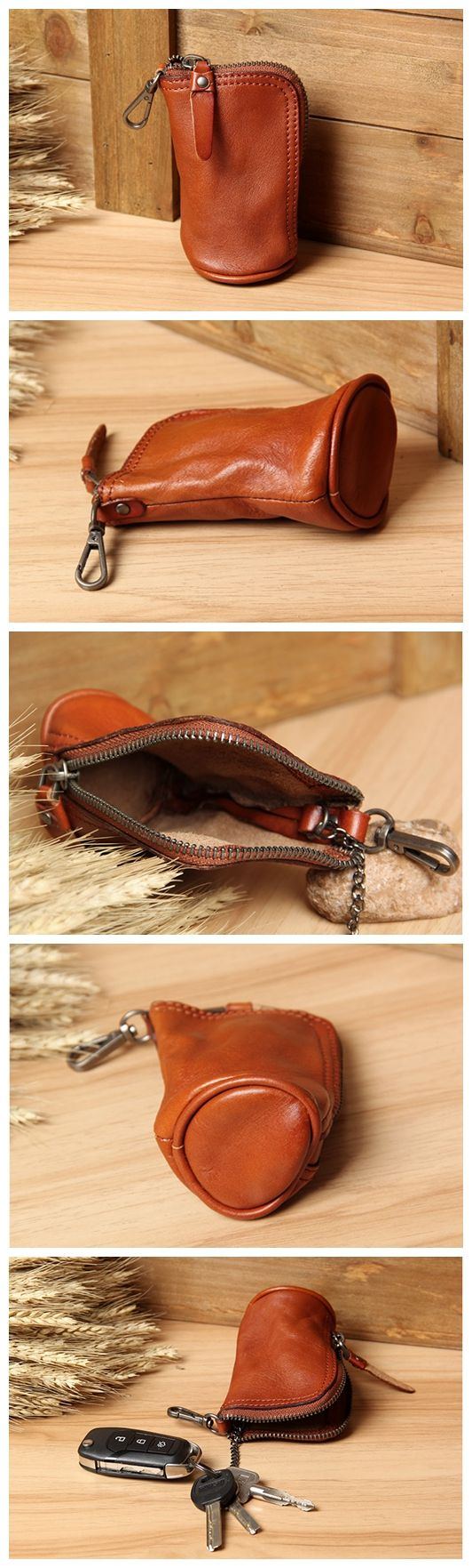 Handmade Genuine Leather Car Key Holder Leather Key Organizer Leather Key Chain Leather Case 2989 Overview: Design: Handmade Genuine Leather Car Key Holder In Stock: 4-5 days For Making Include: Only
