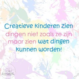 Creatieve kinderen zien wat dingen kunnen worden. #quote #creativiteit   Voor mij één van de redenen dat ik zo van mijn werk houd!  sienenco.nl