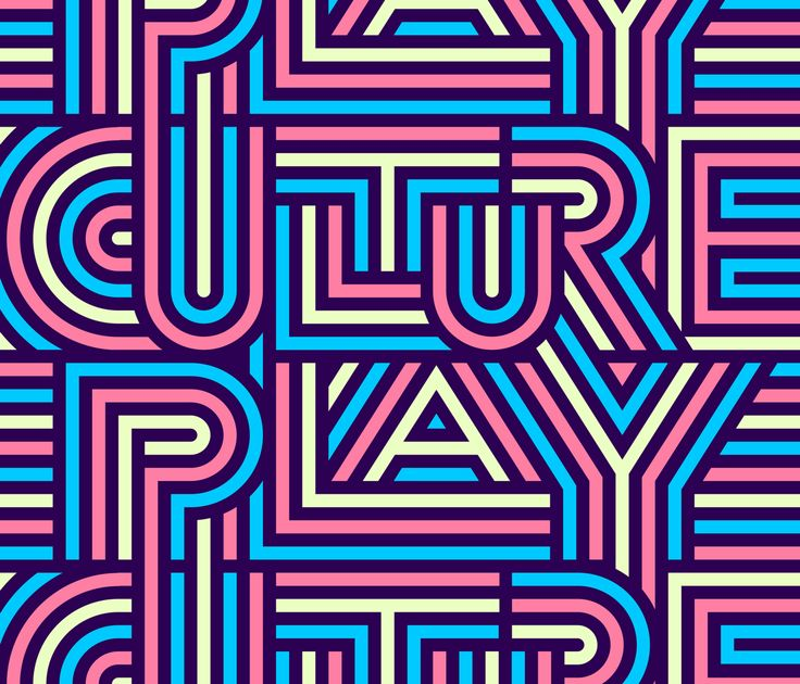 Culture Play — Friends of Type
