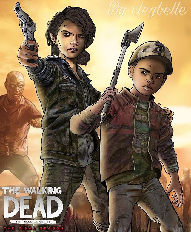 ᴛᴡᴅɢ ɪs ᴍʏ ʟɪғᴇ No Instagram Clementine And Aj Aftermath Poster Wanted To Make Another The Walking Dead Telltale Walking Dead Art Walking Dead Game