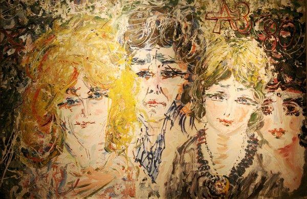 Анатолий Зверев (3 ноября 1931, Москва — 9 декабря 1986, Москва) — известный русский художник-авангардист.