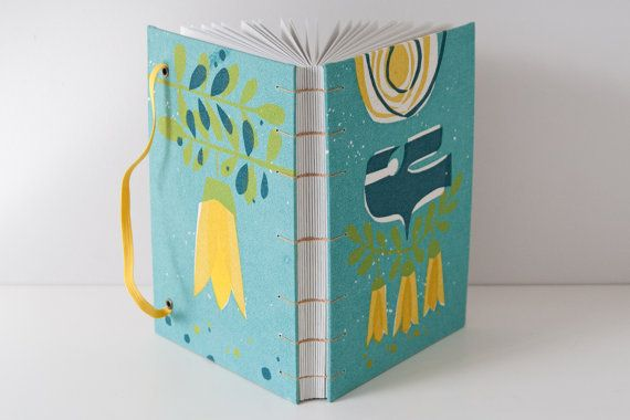 MakeForGood Writing Journal. Bird Journal. Blank by Mettaville