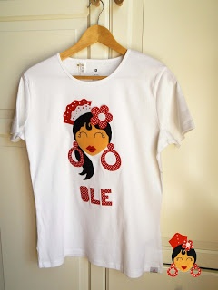www.pikapic.es Camiseta carita gitana
