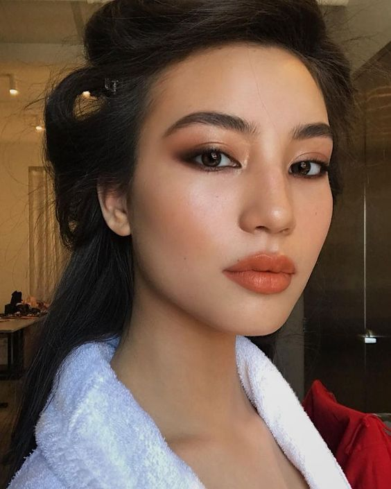 alltägliche Make-up-Looks, natürliche Make-up-Looks, kein Make-up-Make-up, ers …   – Alltag Make-up asiatisch