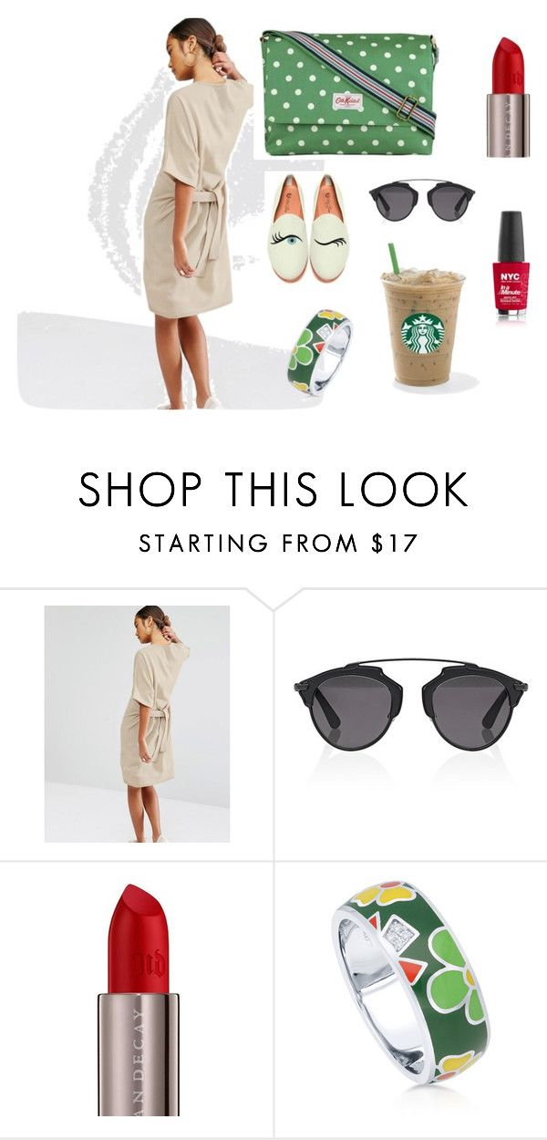 """Summer time"" by janka-dzurillova on Polyvore featuring Daisy Street, Cath Kidston, Christian Dior, Urban Decay and BERRICLE"