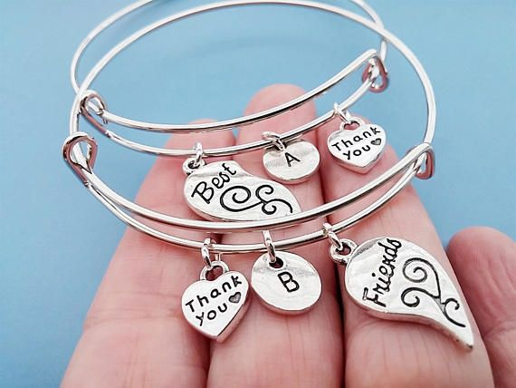 Friendship Bracelets SET Personalized Jewelry Adjustable