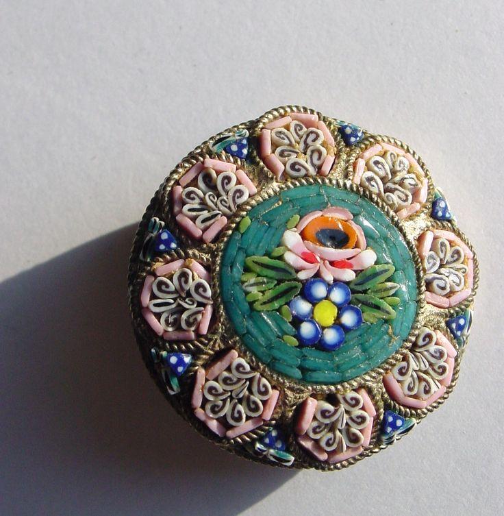 vintage italian mosaic jewelry eBay