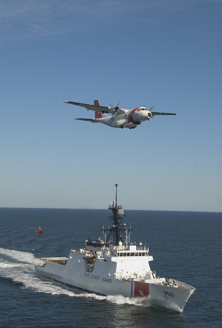 Bertholf, the flagship in the Coast Guard's first new class of large cutters in 25 years.