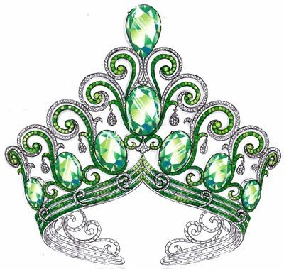 Peacock Tiara! I would love a chance to try this on!