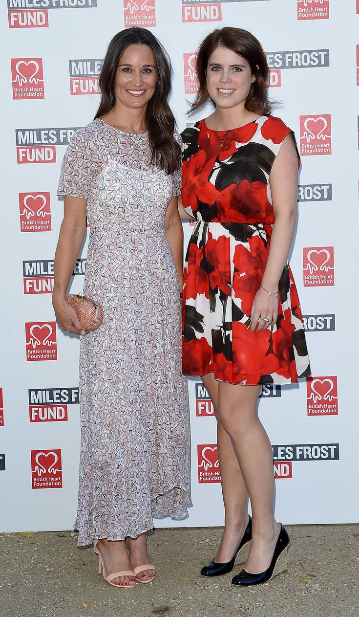 July 2016 | LONDON, ENGLAND - JULY 18: Pippa Middleton and Princess Eugenie attend The Frost family final Summer Party to raise money for the Miles Frost Fund in partnership with the British Heart Foundation on July 18, 2016 in London, England. (Photo by David M. Benett/Dave Benett/Getty Images for British Heart Foundation) via @AOL_Lifestyle Read more: https://www.aol.com/view/pippa-middletons-style-transformation/?a_dgi=aolshare_pinterest#fullscreen