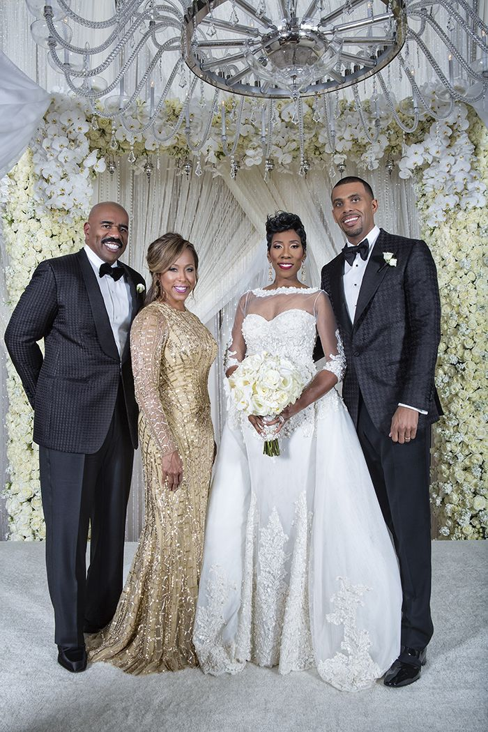Sterling Photography Steve Harvey Daughter Wedding