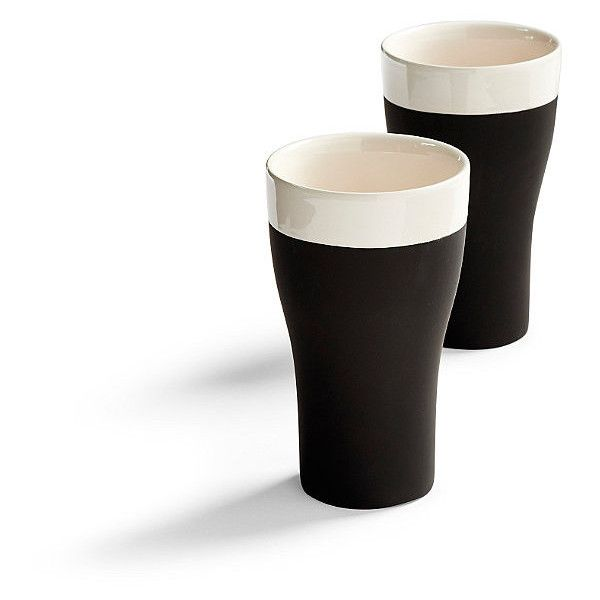 Magisso Naturally Cooling Tumblers, Set Of Two (51 CAD) ❤ liked on Polyvore featuring home, kitchen & dining, drinkware, ceramic tumbler, polka dot tumblers, water tumbler, twin pack and frontgate