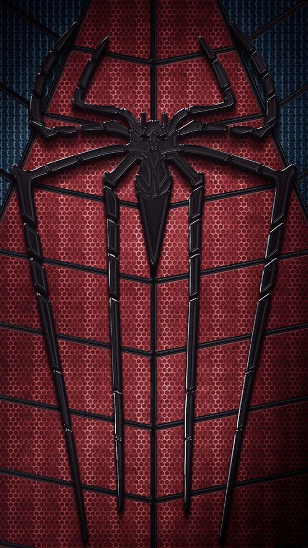 Wallpaper iphone superhero - Iphone 5 Apple Wallpaper Tap And Get The Free App For Geeks Movies Spiderman Superhero Dark Red