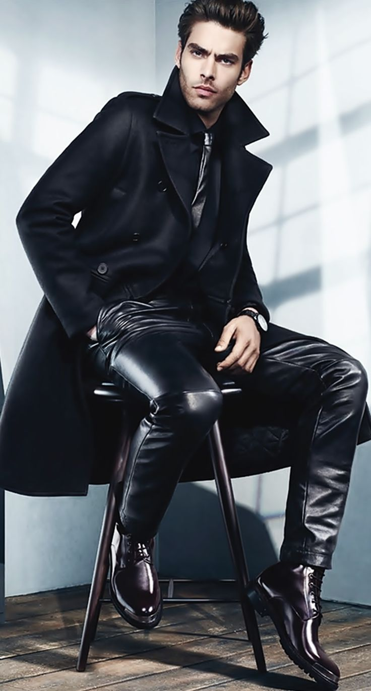 Kenneth Cole reveals its fallwinter ad campaign where stars model Jon Kortajarena Both wear labels luxe designs of clothing
