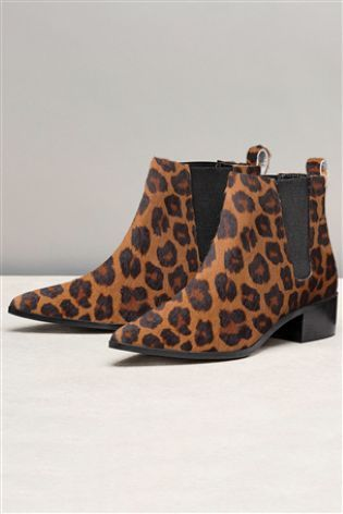 Buy Leather Point Chelsea Ankle Boots online today at Next: Israel