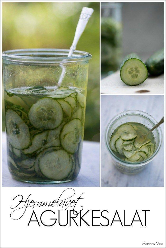 gammeldags agurkesalat opskrift