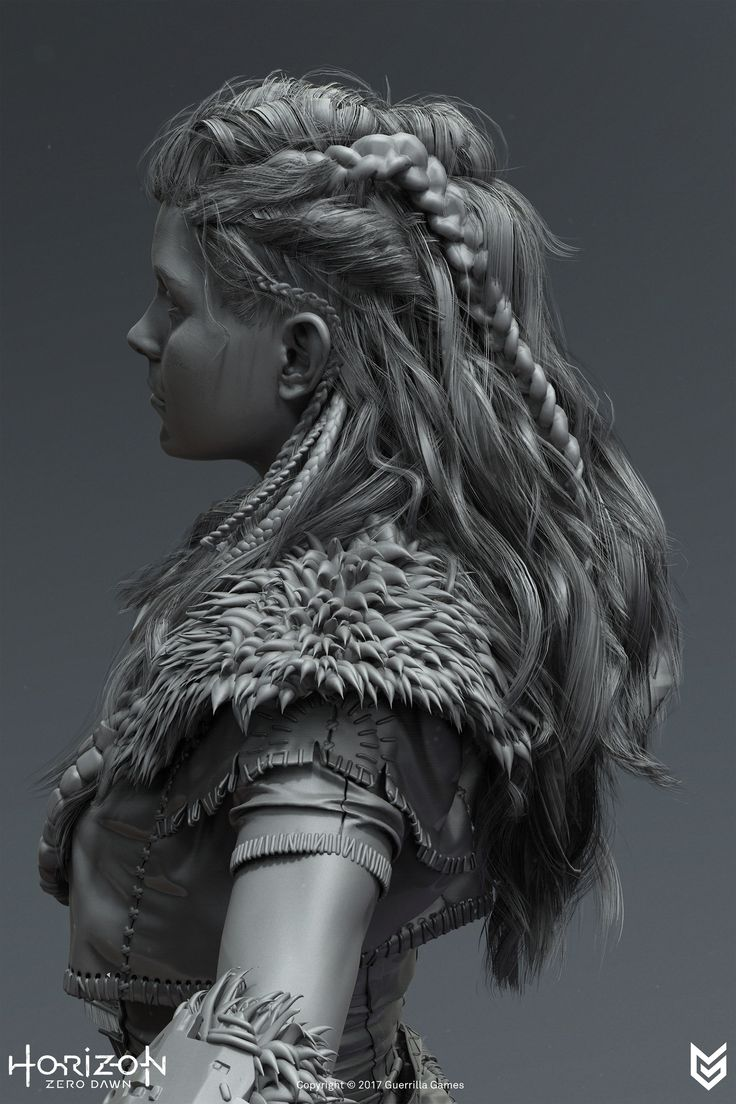 ArtStation - Horizon Zero Dawn - Hair, Johan Lithvall