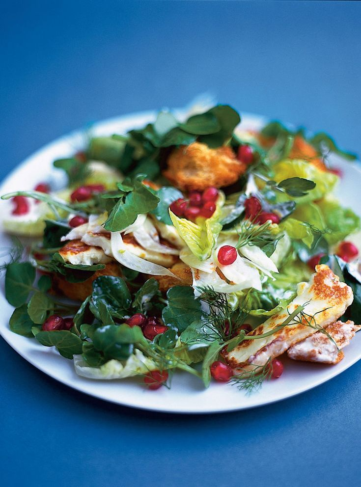 the 25 best halloumi salad recipes ideas on pinterest