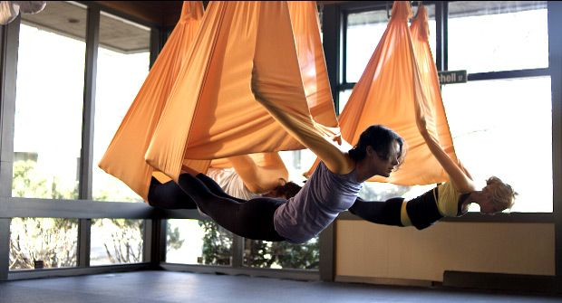 Getting the Hang of Anti-Gravity Yoga