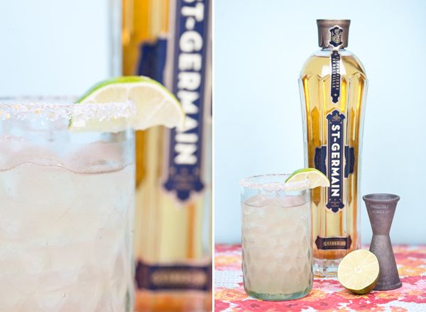 St Rita ~ Tequila, St-Germain, freshly squeezed Lime Juice, and a small amount of agave or sugar.