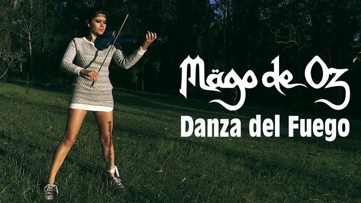 DANZA DEL FUEGO (Mago de Oz) 💿en VIOLÍN ELÉCTRICO!!