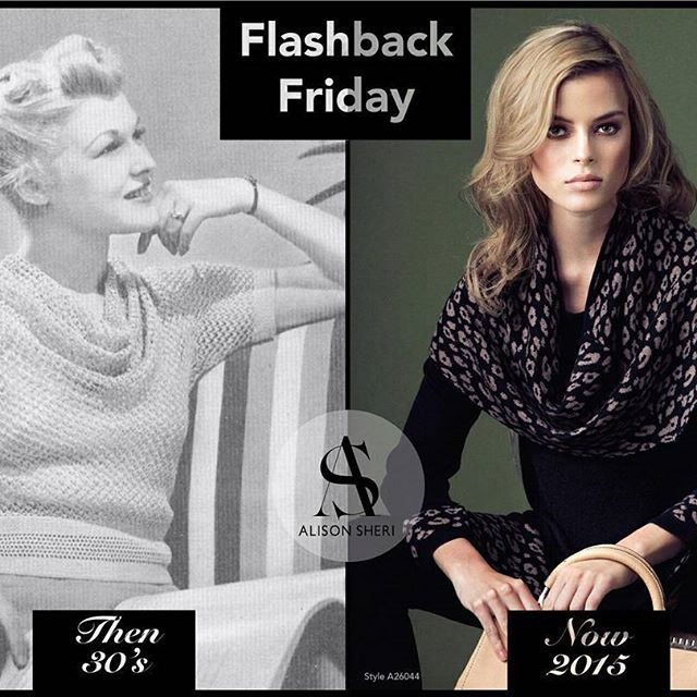 Madeleine Vionnet opened her own fashion house in 1912 and made cowl necks popular in the 1930s! Since then the #fashion industry hasn't forgotten them!  Wear this great cowl neck #sweater and be cozy for your #holiday get togethers! #flashbackfriday #fbf #cowlneck #leopardprin #comfy #cozy