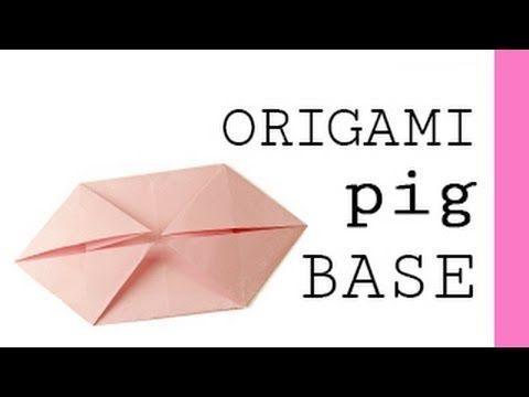 Origami Pig Base