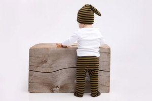 Striped Baby Drawstring Leggings by Mabo