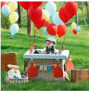 11 best Hot Air Balloon Birthday Party Ideas images on Pinterest