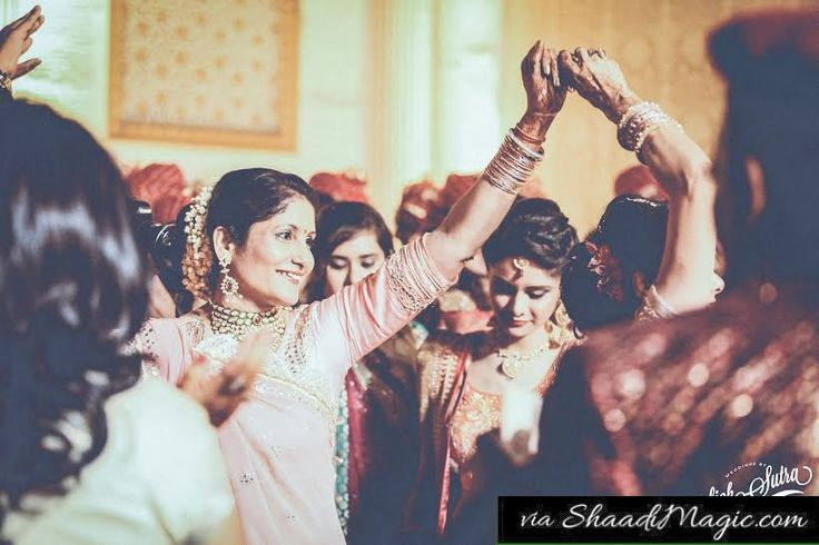 When she is the life of party –  She dances on practically anything at your wedding. From – Cliche ' Ae meri zohrazabben' to 'Chittiyan Kalaiyan' she knows it all.