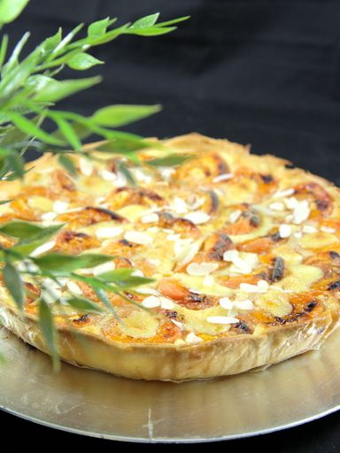 Photo 3 de recette Tarte abricot amandine - Marmiton