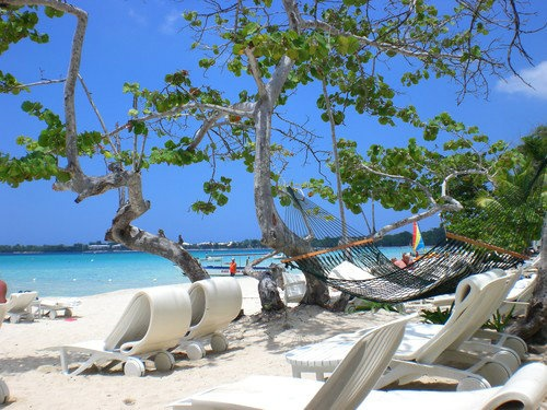 Beach at Couples Negril, Jamaica