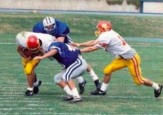 The Gym Mom: All Grown Up: John Elkin, Middle Linebacker