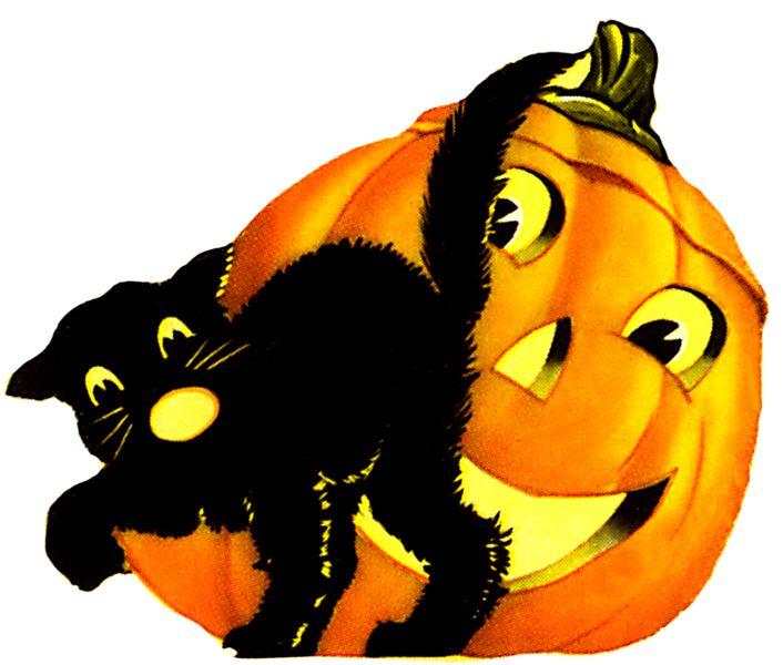 vintage halloweenlove this - Halloween Graphics Clip Art