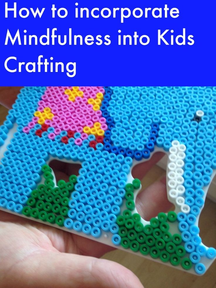 Mindfulness and kids crafting go hand in hand. Such a lovely way to help kids be fully present and a definite way to make happy kids