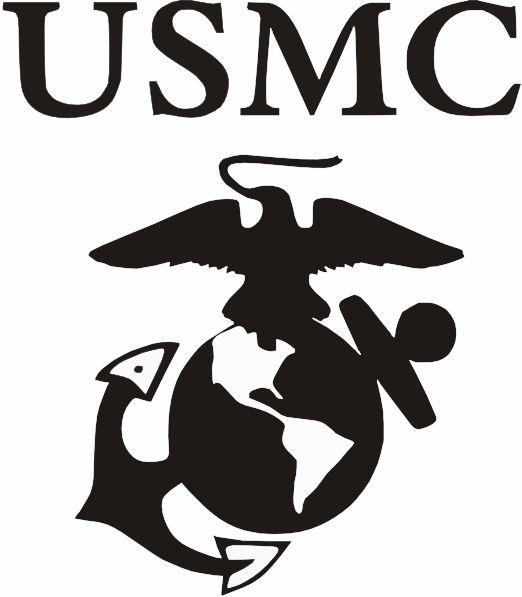marine corps emblem clip art usmc logo clip art art pinterest rh pinterest com marine corp symbols clip art