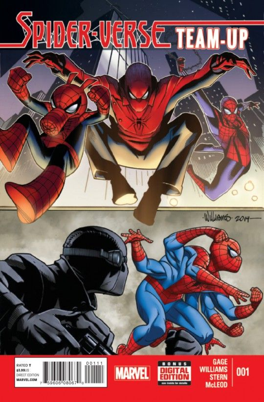 Spider-Verse Team-Up #1