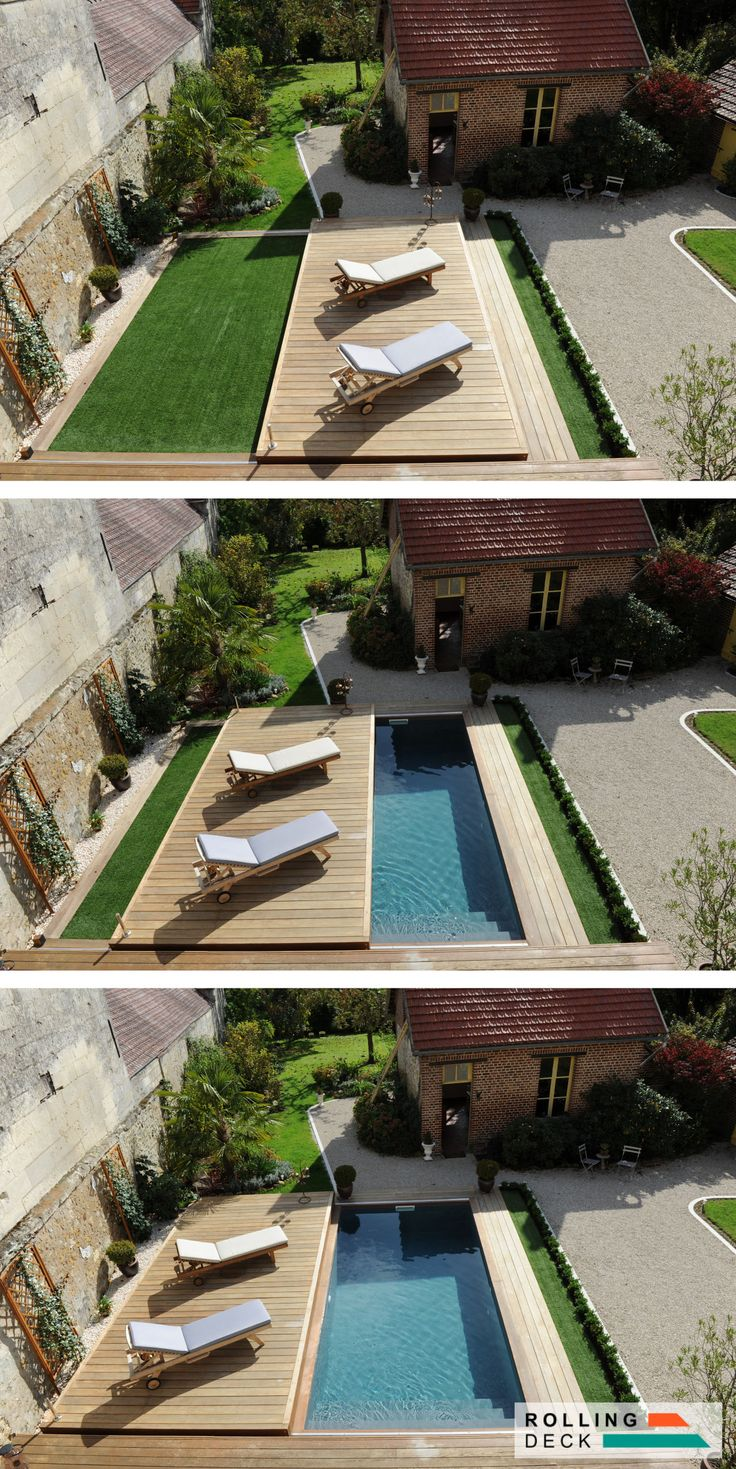 46 best terrasse mobile de piscine images on pinterest for Terrasse mobile piscine prix