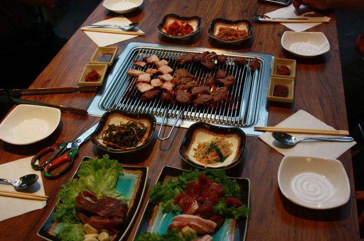 Korean BBQ is awesome